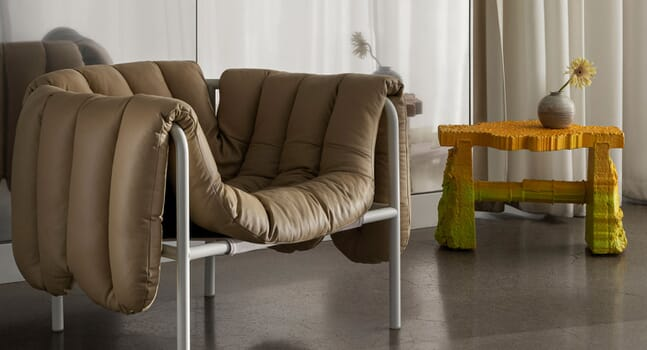 Minimalist armchairs that fuse function and style