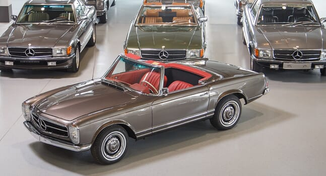 Colour and Chrome Collection: The magnificence of Mercedes