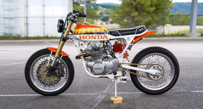 Custom of the week: Honda CB350 Street Scrambler by Dia de los Motos