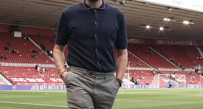 Percival x Gareth Southgate: Sophisticated pitch-side style