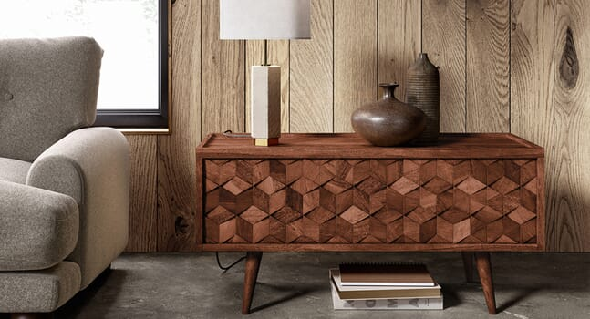 Get the Mad Men look with Swoon's mid-century modern furniture