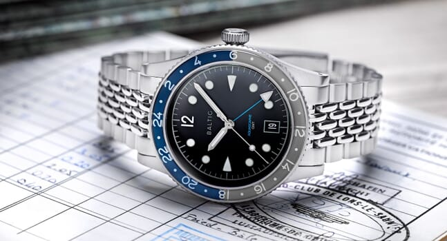 Everything you need to know about the BALTIC Aquascaphe GMT