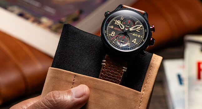AVI-8 is the ultimate watch brand for aviation-obsessives