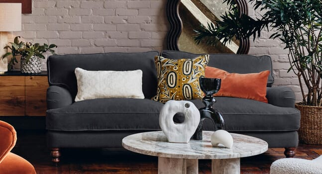 Irresistible velvet sofas to sink into