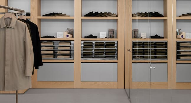 The shop that says buy less: Inside ASKET's first physical store in Stockholm