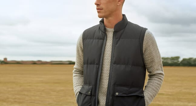 The gilet is your year-round layering hero