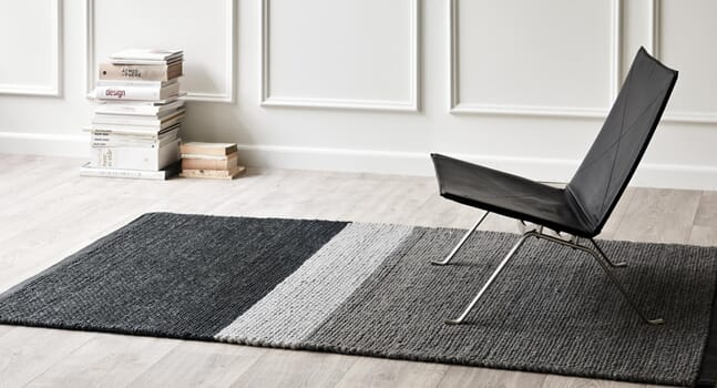 Monochromatic magic: Black and white rugs to instantly elevate your interior