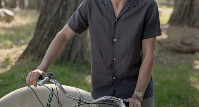 These ISTO. shirts promise effortless elegance all year round