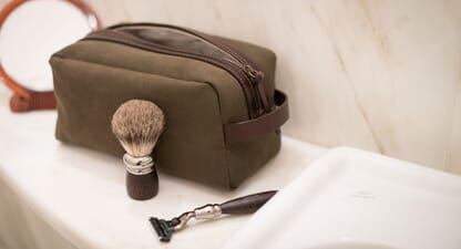 The best men's toiletry bags for on-the-go grooming