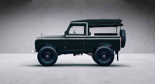 Your next classic toy, batteries included: Electric Land Rover Series IIA by Everrati