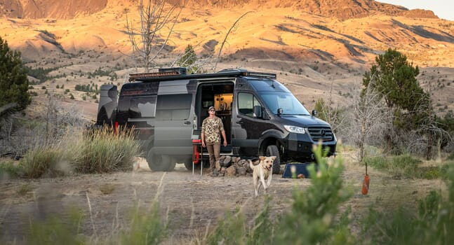 The ultimate survivalist off-roader: Inside Outside Van's Launch Pad