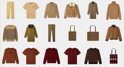 A.P.C sizing guide: How it should fit
