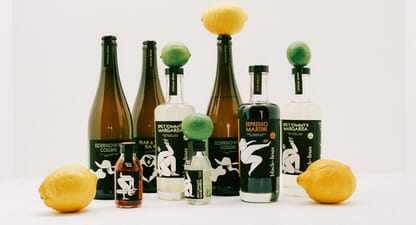 Black Lines' ready-to-serve bottled cocktails are revolutionising cocktail hour