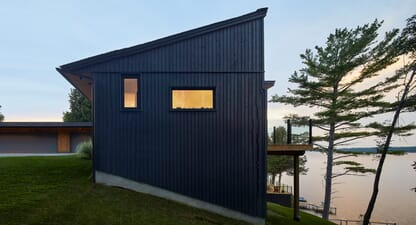 5 modern homes that showcase the best of lake house architecture