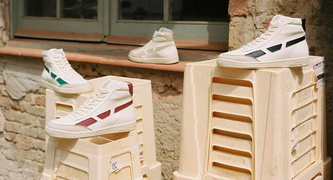 SAYE's latest style takes vegan trainers to new heights